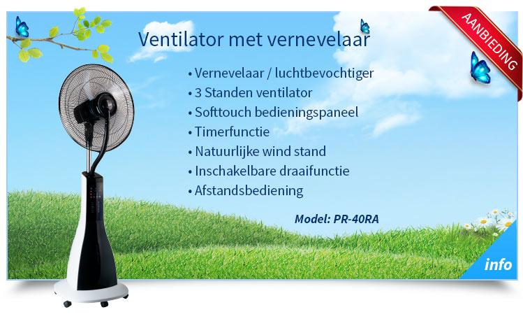 progenion ventilator met water